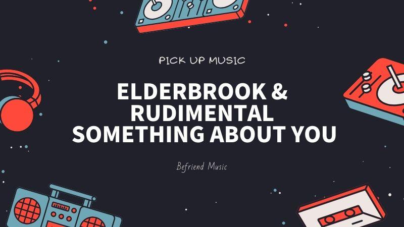ダウンテンポだけど不思議と体が動いてしまう「Elderbrook & Rudimental - Something About You」